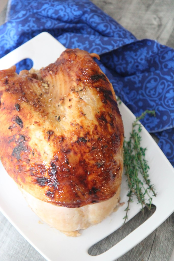 Maple Glazed Turkey Breast