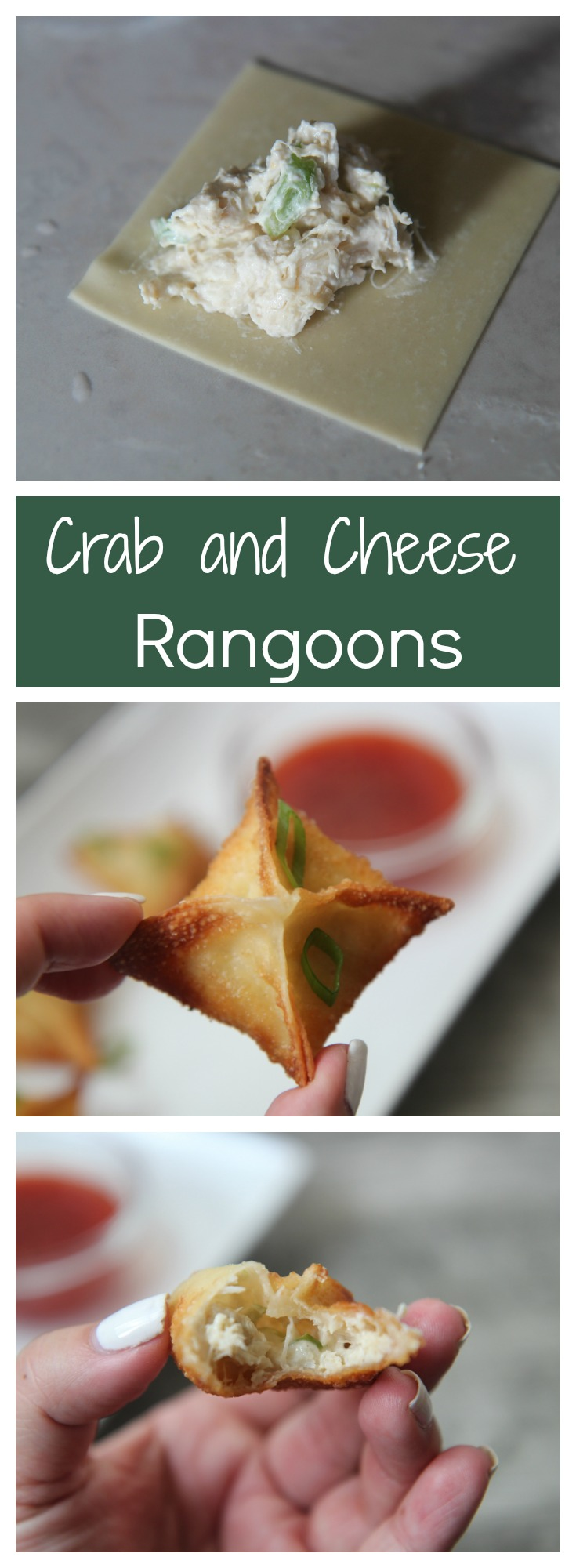 Cream Cheese and Crab Rangoon recipe.