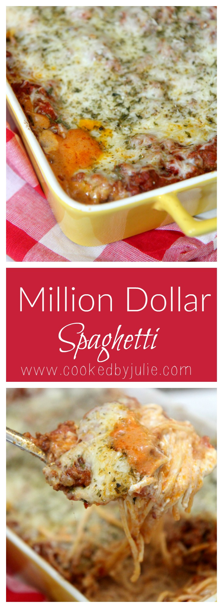 Learn how to make the best spaghetti ever at CookedByJulie.com
