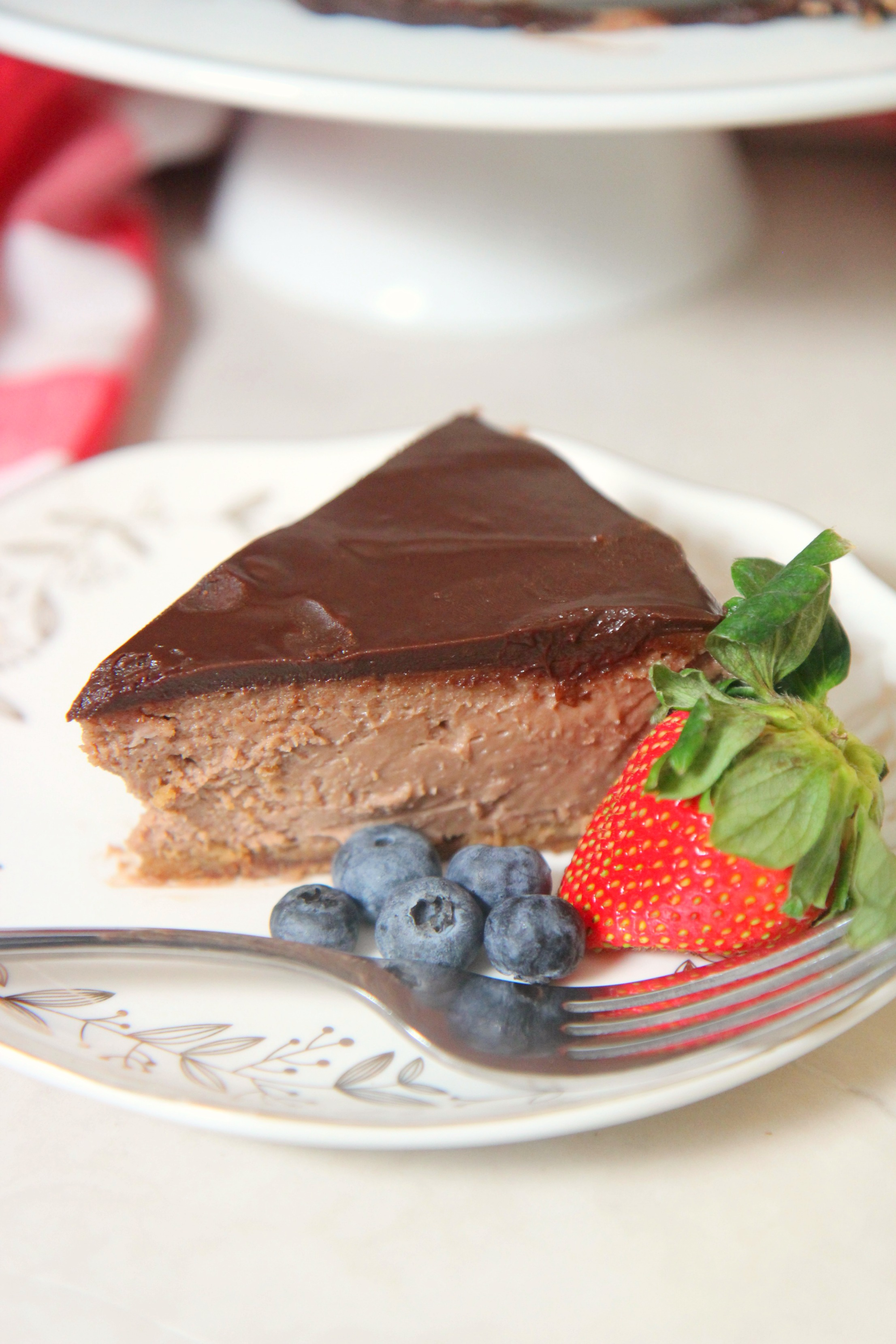 This decadent and delicious nutella cheesecake is totally worth the extra effort it takes to make from scratch.