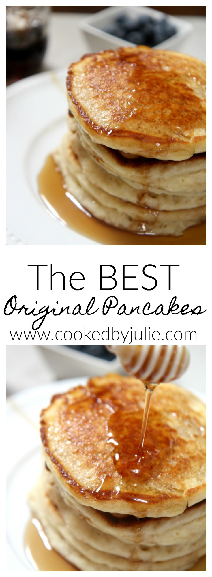 You can make the Best Original Pancakes with help from CookedByJulie.com