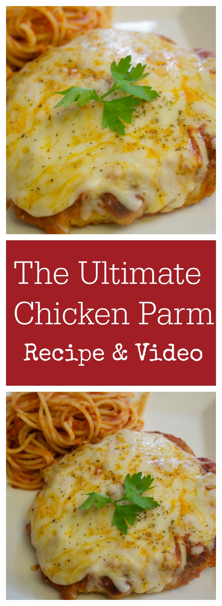 Cheesy Chicken Parmesan | The Ultimate Chicken Parm Recipe