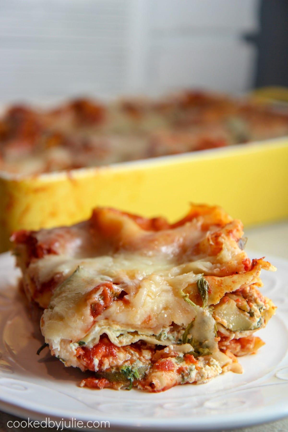 classic vegetable lasagna