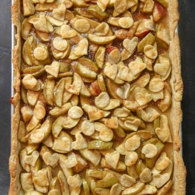 big slab apple pie