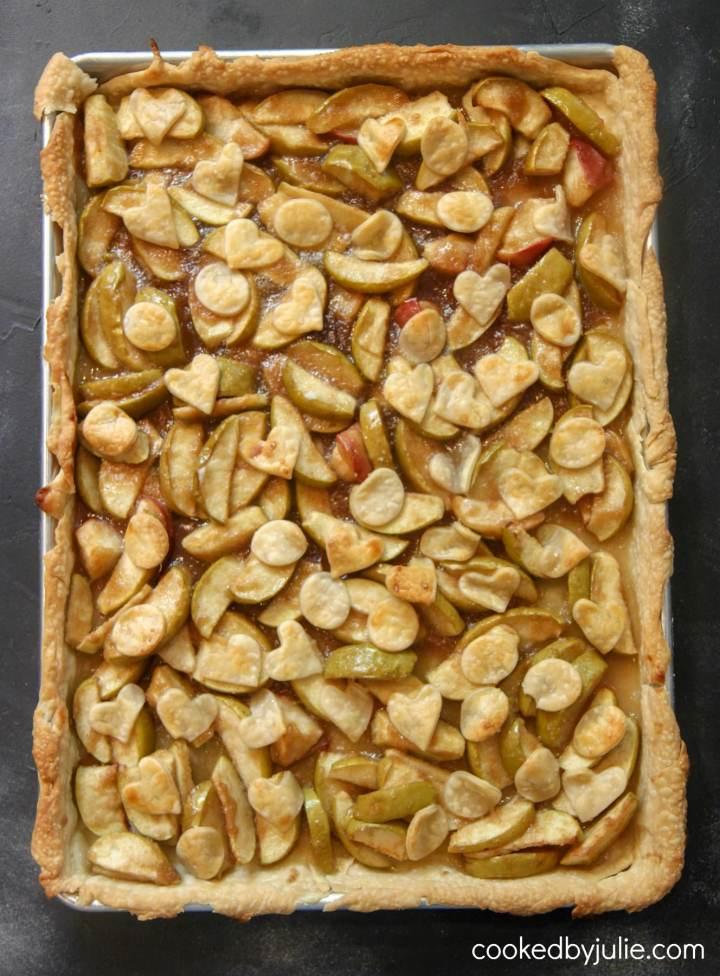 big slab apple pie