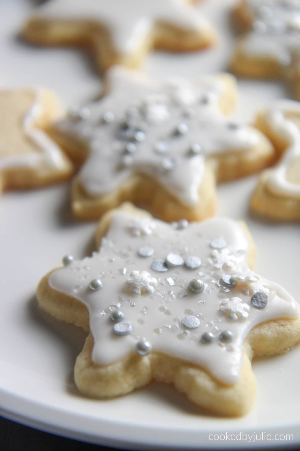 Sugar Cookies With Icing