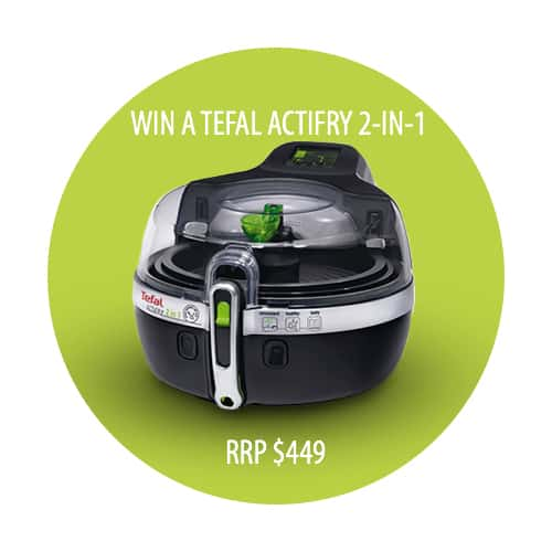 Win a tefal actifry 2-in-1
