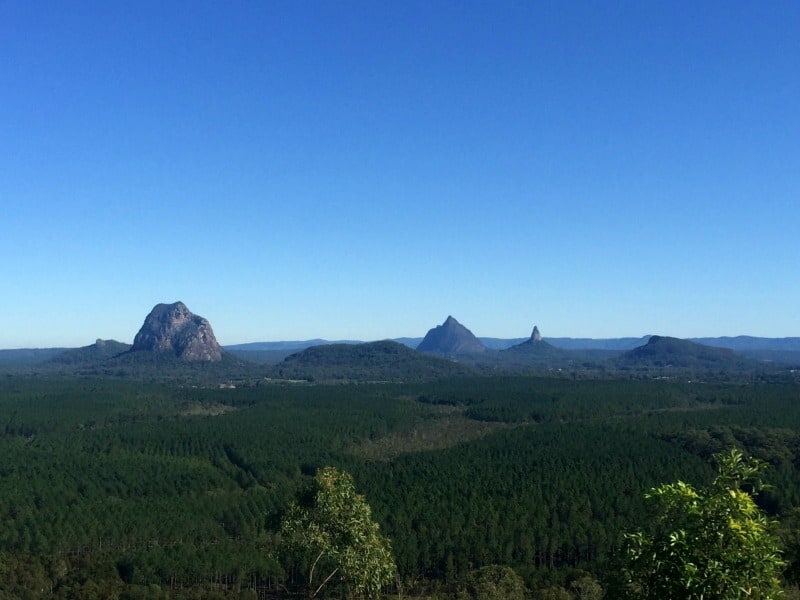 Glass House Mountains family friendly sunshine coast