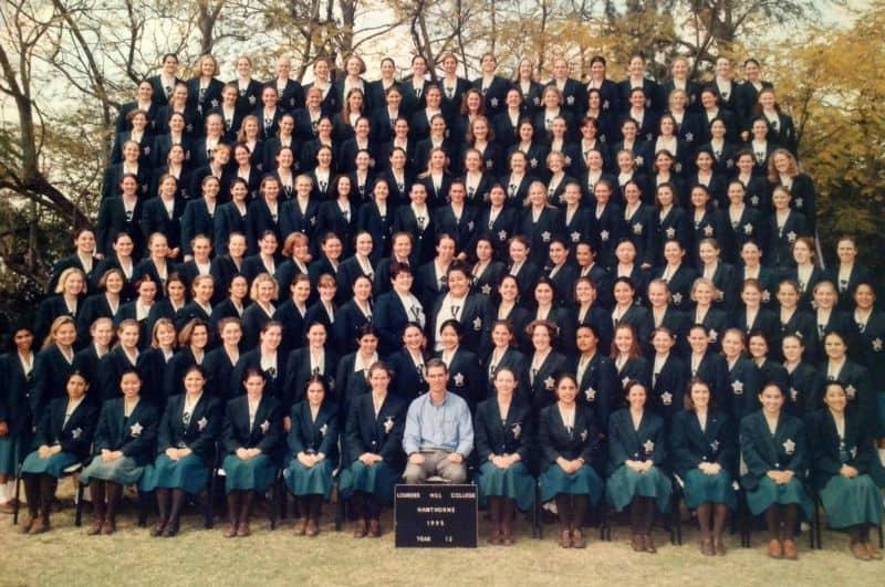 Lourdes Hill College Senior Photo 1995