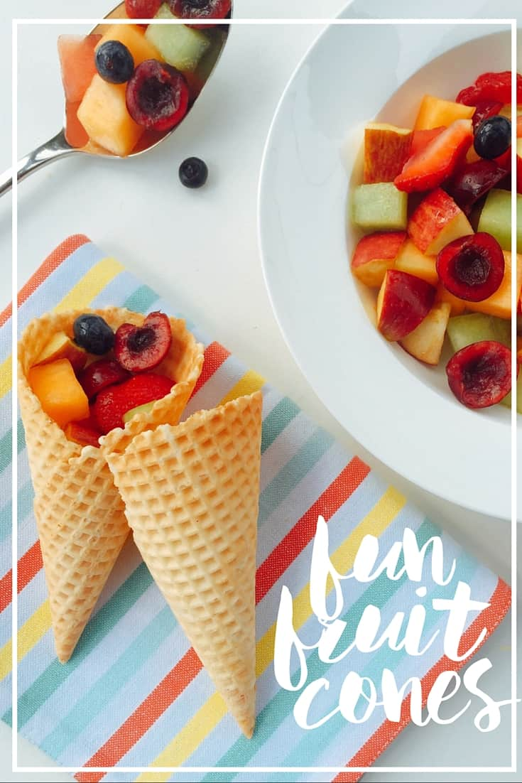 fun fruit cones