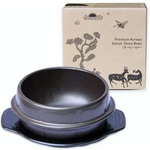 Korean Cooking Stone Bowl, Medium