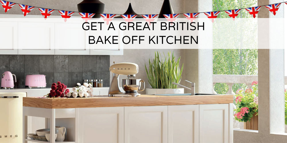 Great British Bake Off Kitchen Cabinets