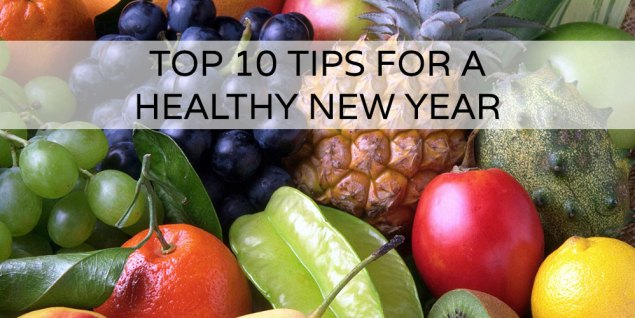 Top 10 tips for a healthy new year