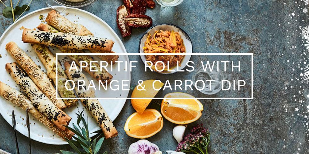 Christmas aperitif rolls recipe