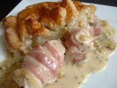 British Pie Week 2014 - Chicken and bacon pie