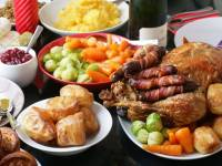 Christmas dinner - you'll eat close to 6000 calories