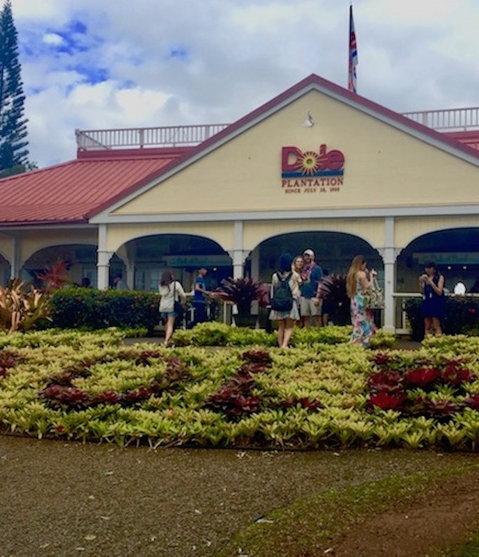 Dole Plantation in Oahu, Hawaii