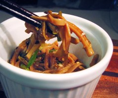 Chinese Chili and Scallion Noodles