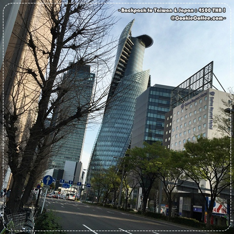 nagoya-review-backpack-travel-japan-station-road-spiral-tower-blue-sky-map-sakura-2016