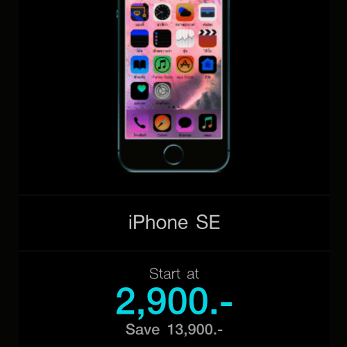 failed-sale-iphone-8x-review-se-2900-baht-thai-cheapest-how-to-buy