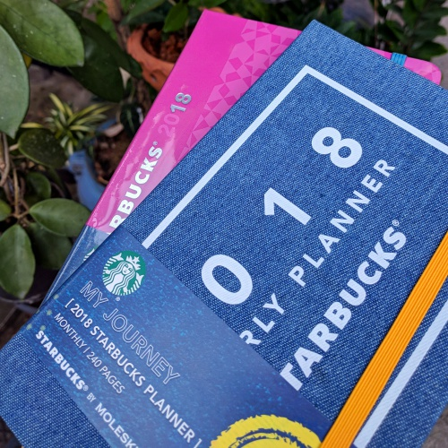 starbucks-thailand-planner-2018-free-how-to-get-review-moleskine-note-jeans-pink