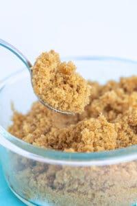 spoonful of brown sugar