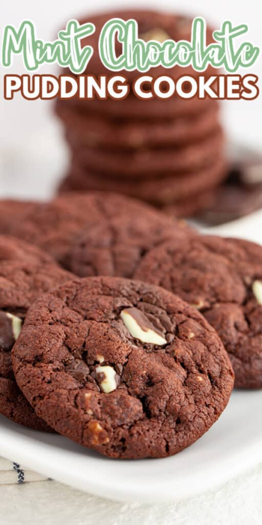 zoomed in photo of a platter of cookies with text at the top
