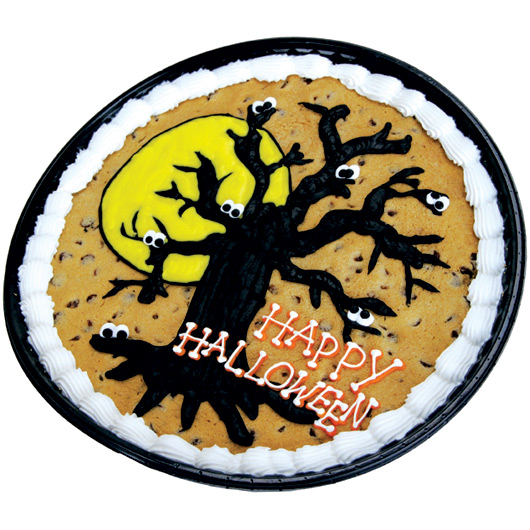Halloween Decorated Cookie Cakes