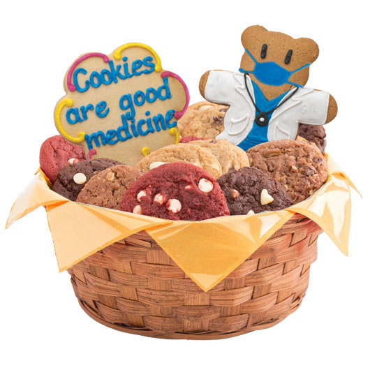 Cookies are Good Medicine Basket
