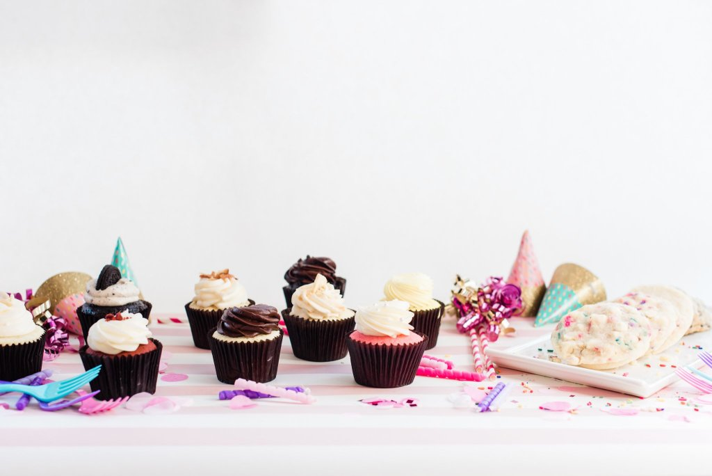 Table of Cupcakes | Bakery in Norfolk
