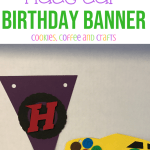 Race Car Birthday Banner Cookies Coffee And Crafts