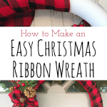 Easy Christmas Ribbon Wreath Cookies Coffee And Crafts