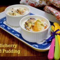 Bread Pudding ~ Pondicherry's Baguettes in Coconut Milk Basundi
