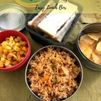 Vegetable Biryani | Easy Veg Biryani for Kids Lunch Box