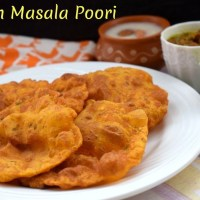 Indian Masala Poori ~ A to Z Indian Pooris