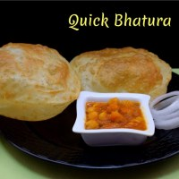 Quick Bhatura ~ A to Z Indian Pooris