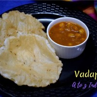 Vadappam ~ A to Z Indian Pooris