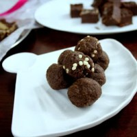 Chocolate Balls ~ Cooking without Fire
