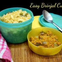 Easy Brinjal Curry | How to make Vankaya Kura