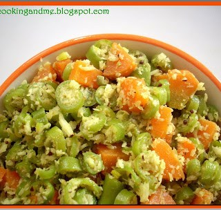 Beans Carrot Thoran | Kerala-Style Thoran for Onam Sadya {Recipe}