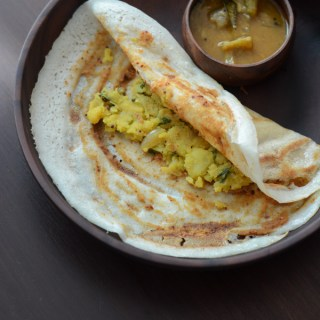Mysore masala dosa recipe, how to make Mysore masala dosa