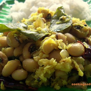 Black Eyed Beans Thoran – Indian Black-Eyed Peas Recipes