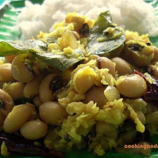 Black Eyed Beans Thoran – Indian Black-Eyed Peas Recipes