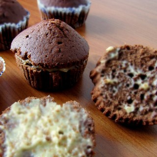 Eggless Butter-Less Chocolate Muffins (Vegan)