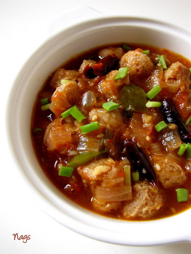 Chilli soya chunks recipe chilli meal maker edible garden chilli soya chunks recipe forumfinder Choice Image