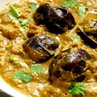 Bagara Baingan Recipe, Hyderabad Bagara Baingan