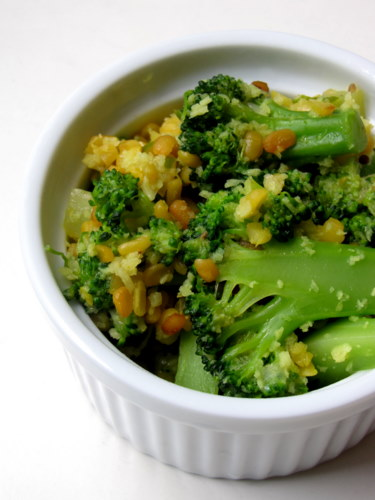 Broccoli Kootu Recipe - easy Indian recipes with broccoli