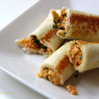 Bread Paneer Rolls, How to Make Paneer Bread Rolls
