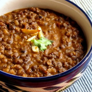 Dal Makhani / Creamy Black Lentils (but) No-Cream Recipe