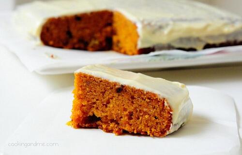 Moist Carrot Cake Recipe - Classic Carrot Cake Recipe